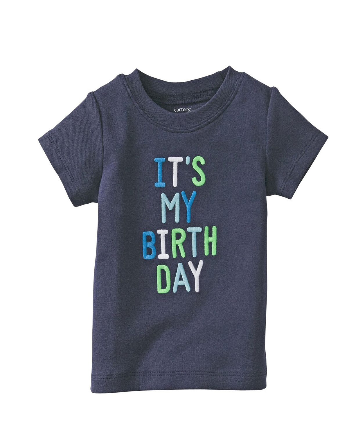 Cute Carters Baby Boys Birthday T Shirt Tee Clothes