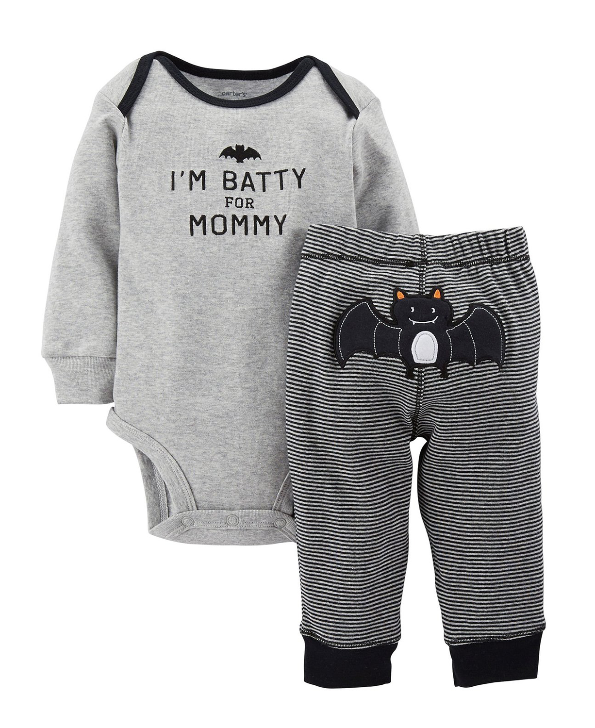 bb62c86bf Cute Carter s Baby Boys  2 Piece Halloween Set (Baby) - Black - Baby ...