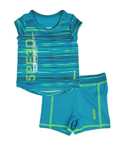 9b620f8f6 Reebok 2-piece Girls Pants And Top Sports Set (12 Months