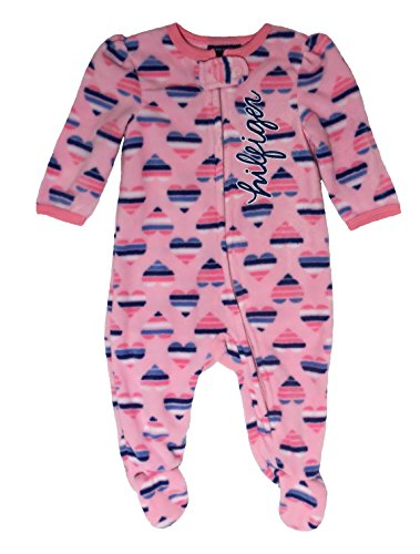 ec4a335c Tommy Hilfiger Baby-Girls Newborn Big Heart Printed Footed Sleeper, Multi,  6-9 Months - Baby Clothes, Baby Clothing, Baby Bodysuits, Baby Boy Clothes,  ...