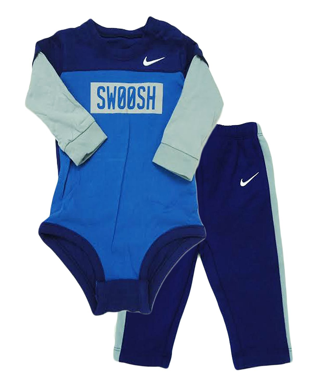 Nike Baby Boys 2 Piece Bodysuit Amp Pants Set 3 6 Months