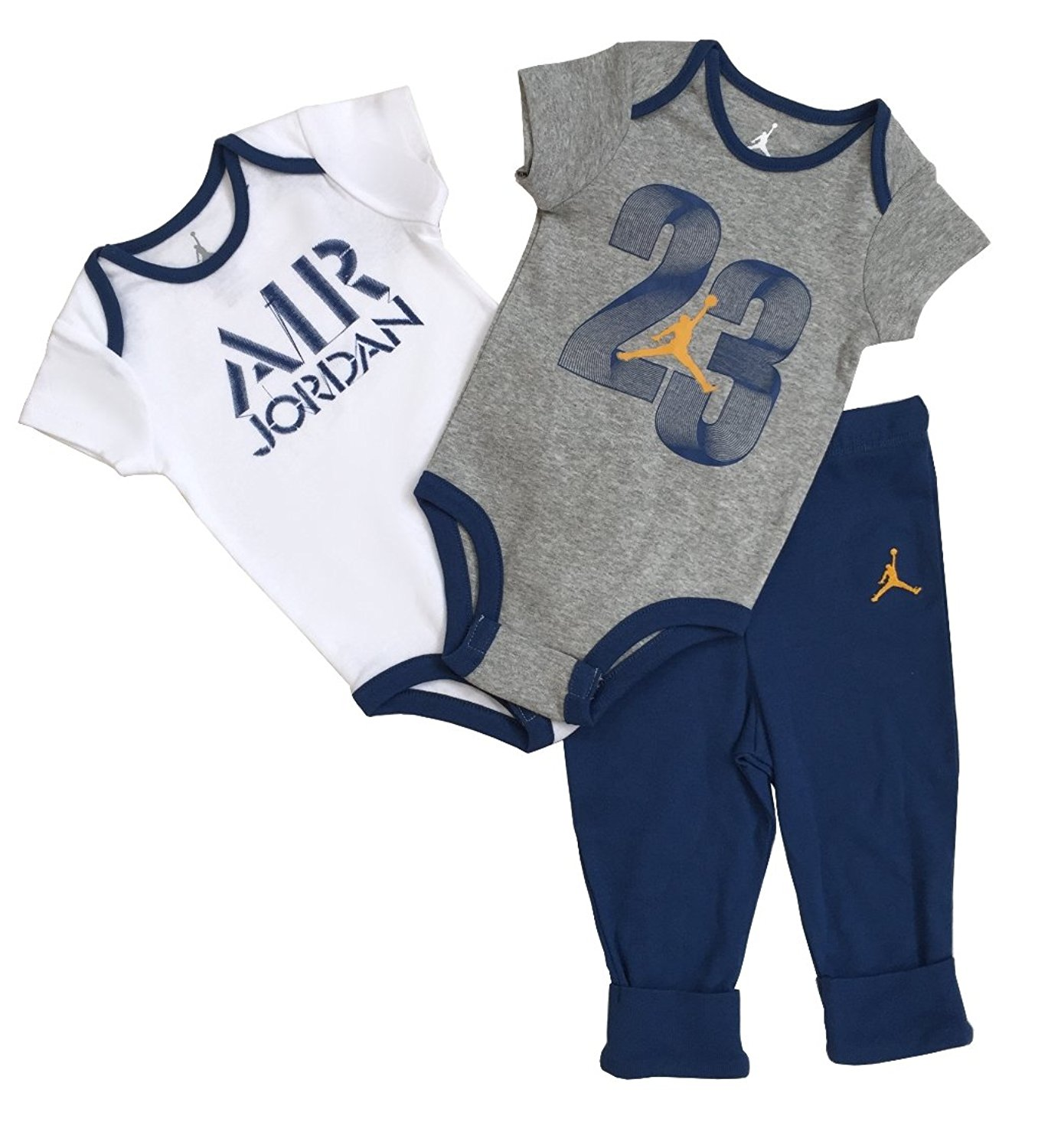 19344a96f3c Nike Jordan Infant New Born Baby 3 Pcs Layette Set (9 12M) - Baby Clothes