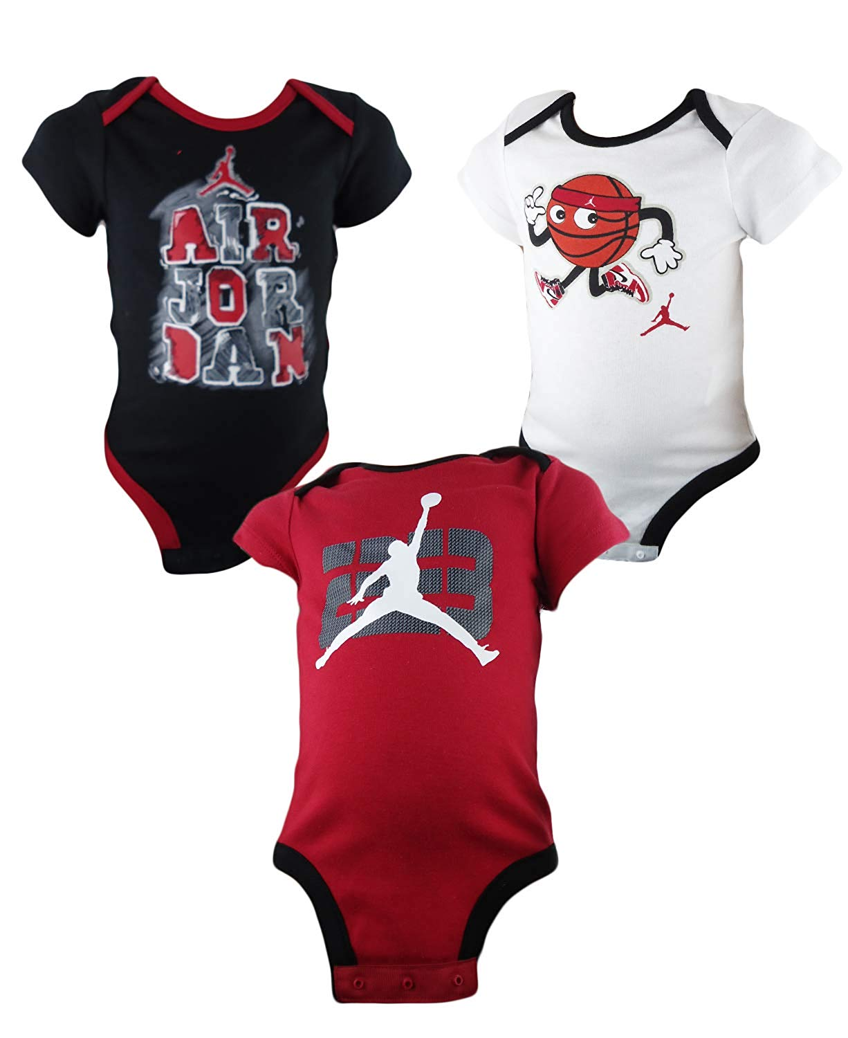 28d1a3ae244961 AIR Jordan Infant 3 PC Bodysuit Set - Baby Clothes
