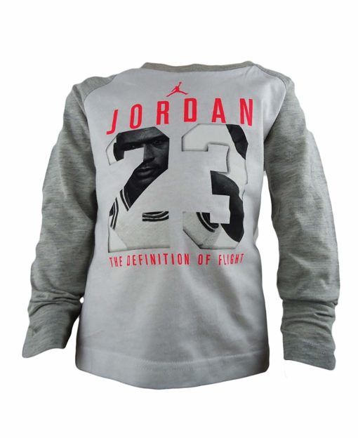 6b761916ec58b3 Air Jordan Boys  23 Jumpman Jersey T-Shirt Top - Baby Clothes