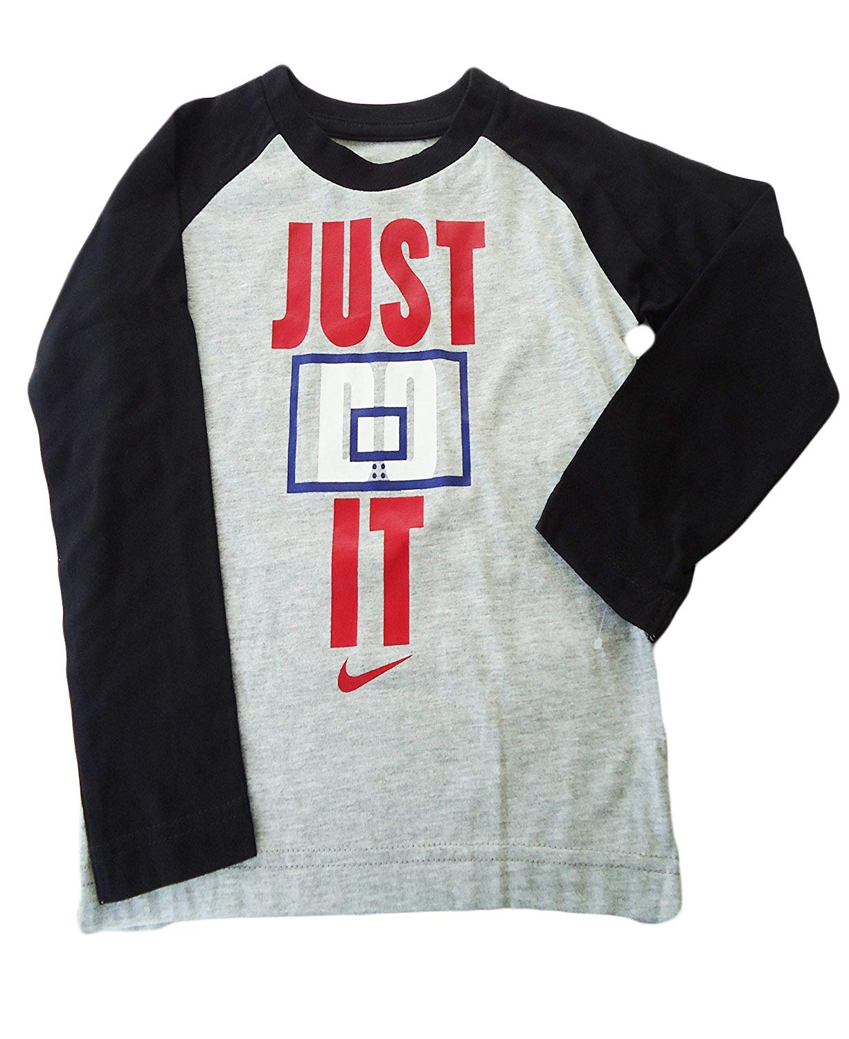 6f61469a Boys: NIKE Graphics 'Just Do It' Long Sleeve Jersey - Baby Clothes ...