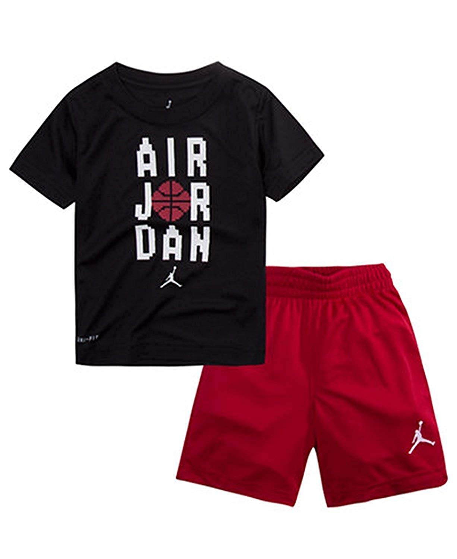 0966437e64ab Boys:Air Jordan 2 Piece Jumpan Pants & Top Outfit - Baby Clothes ...