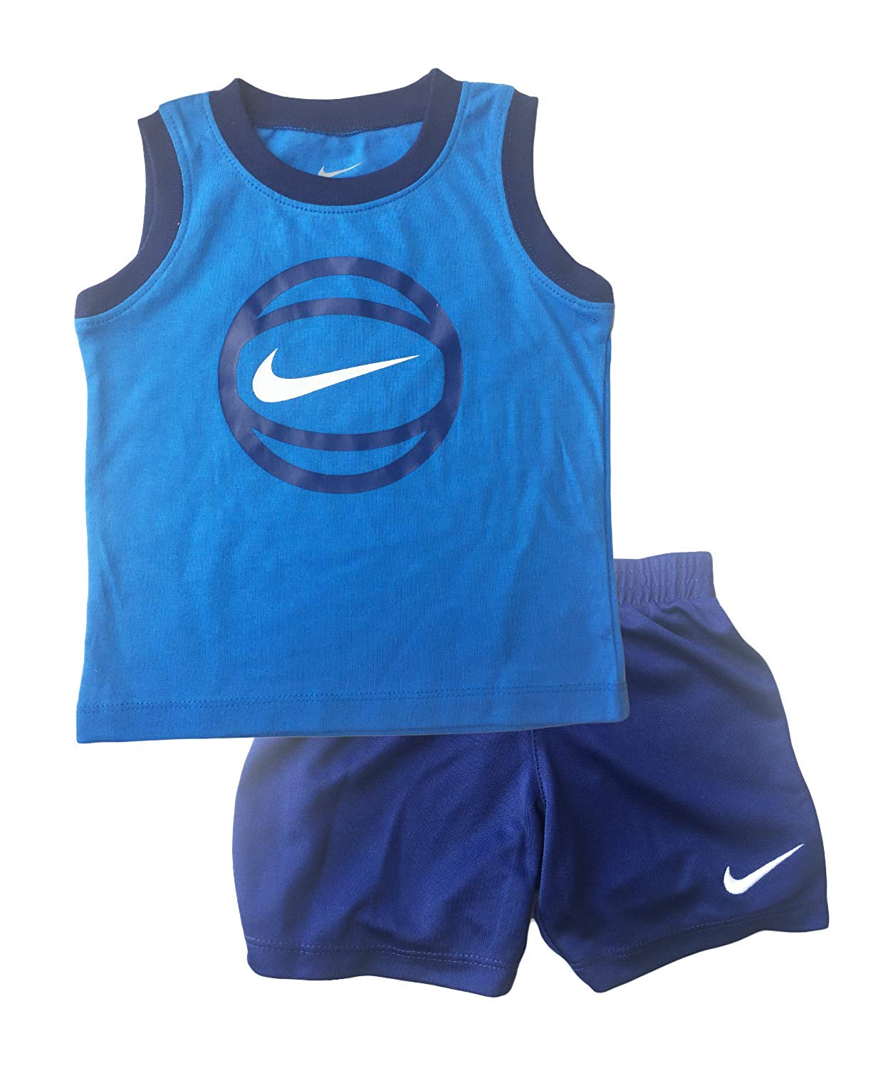 e937612b0acc3 2-PC Nike Boys Top and Shorts Set - Baby Clothes