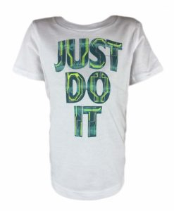 NIKE Active Graphics Just Do It Boys T-Shirt Top
