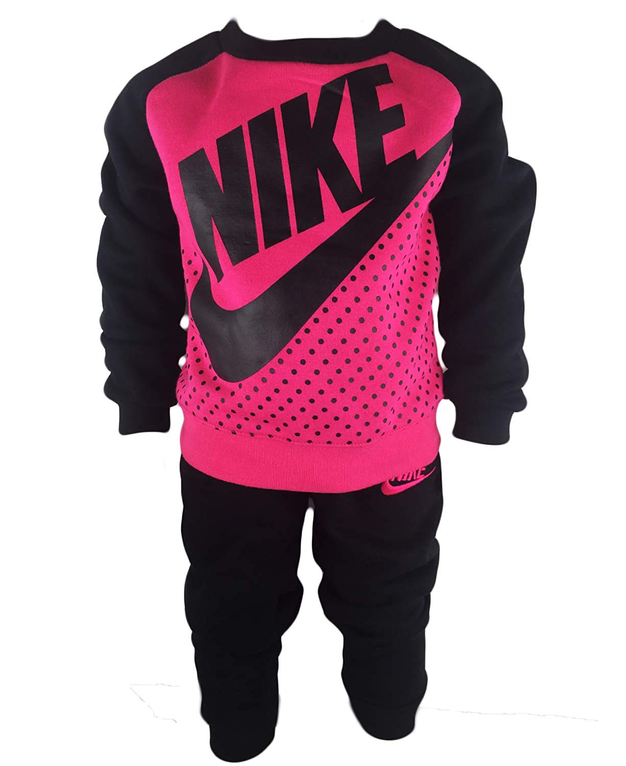 Toddler Girls Nike Colorblock Fleece Sweater Pants Set Baby Clothes Baby Clothing Baby Boy Clothes Baby Girl Clothes Cheap Name Brand Clothes For Kids Toddler Name Brand Clothes Cheap Name Brand Baby