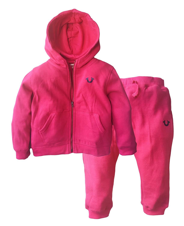 03f8e9344e27 True Religion Fashion Outline Toddler Hoodie Set - Baby Clothes ...